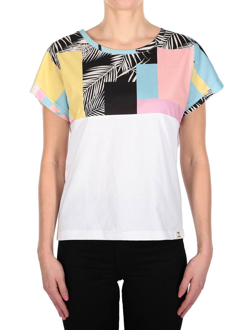 Funky Block 2 Tee - Candy Color-1