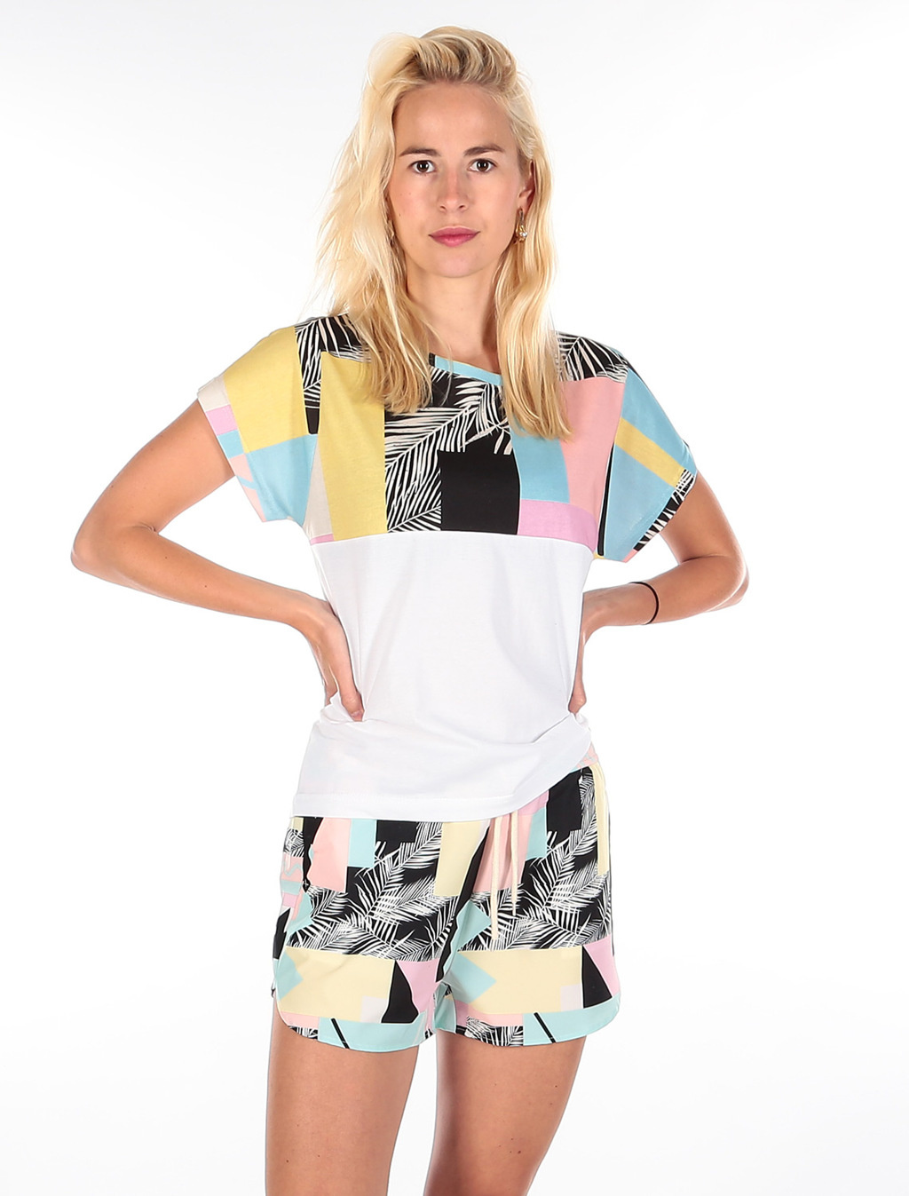Funky Block 2 Tee - Candy Color-3