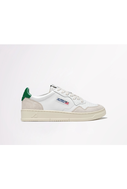 Low Leat/Suede Wht/Amazon
