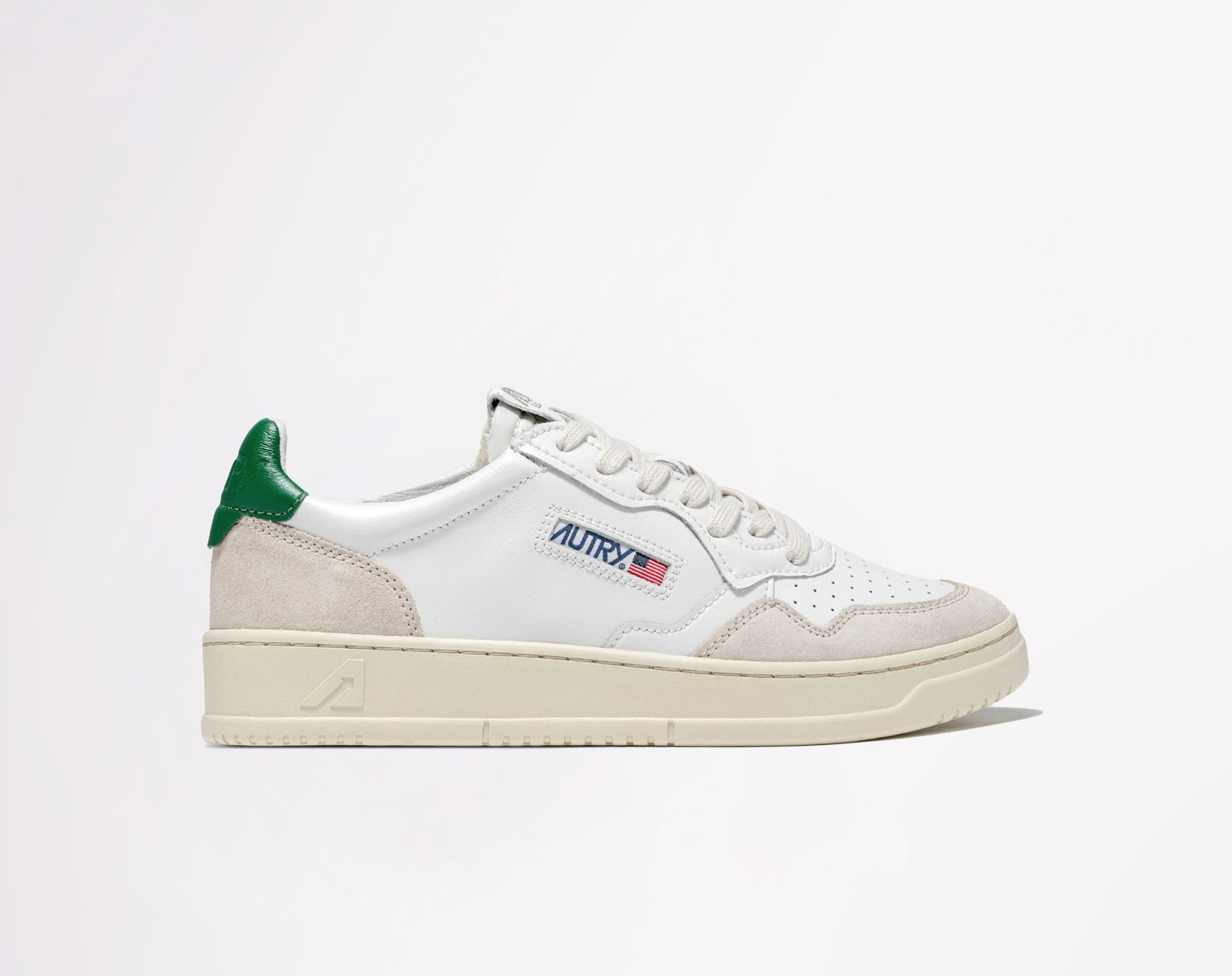 Low Leat/Suede Wht/Amazon-1