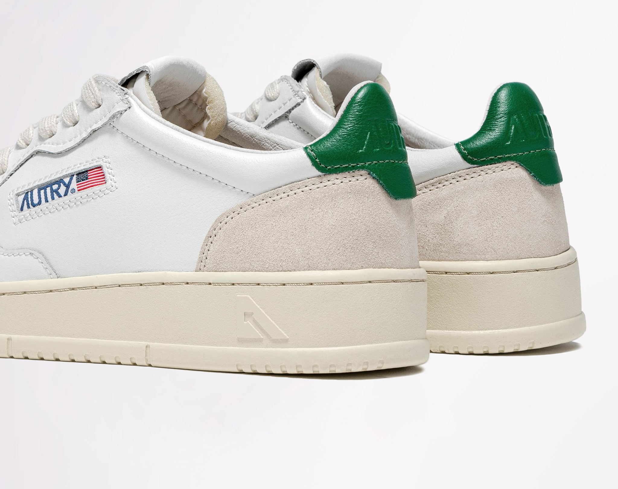 Low Leat/Suede Wht/Amazon-2
