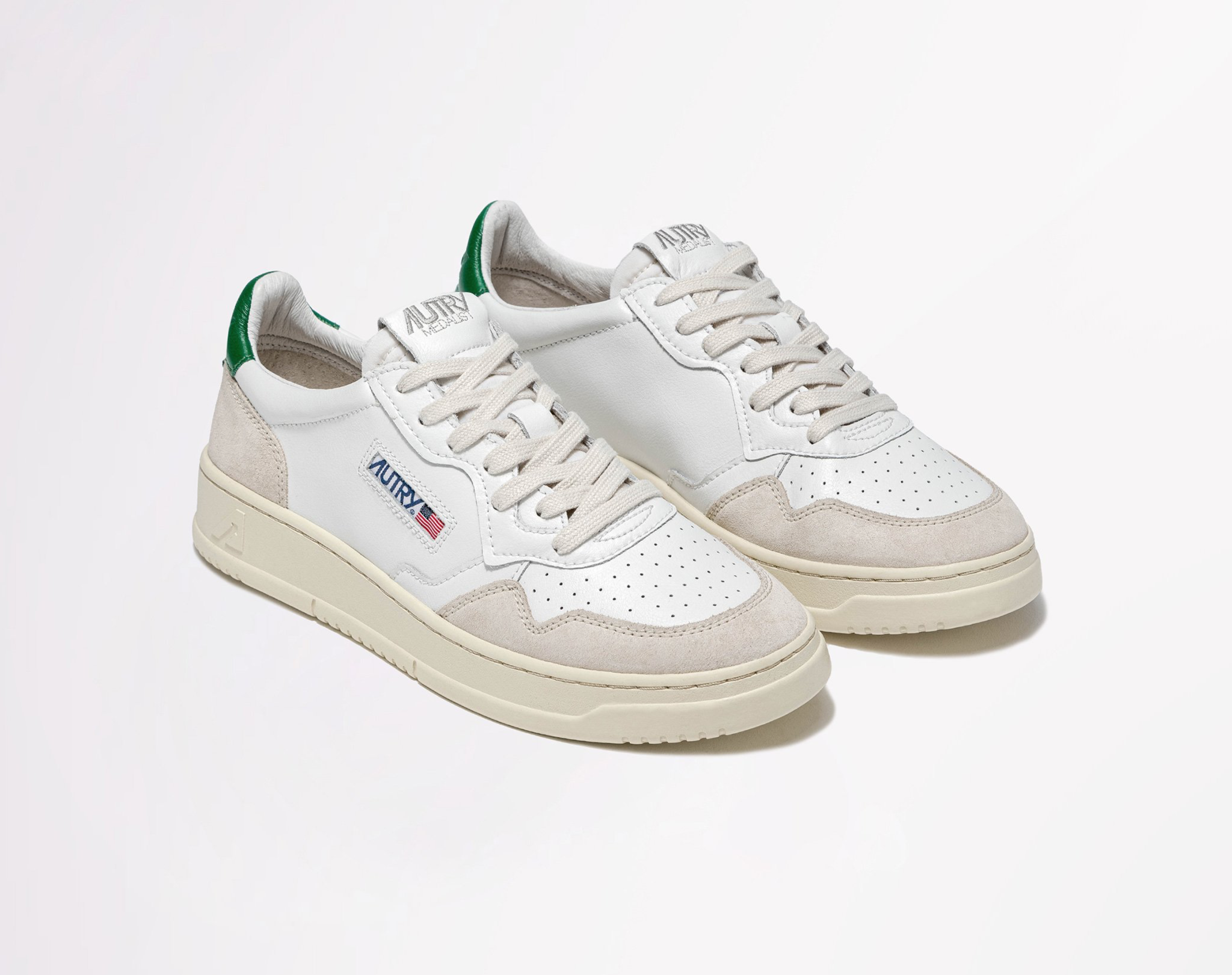 Low Leat/Suede Wht/Amazon-3