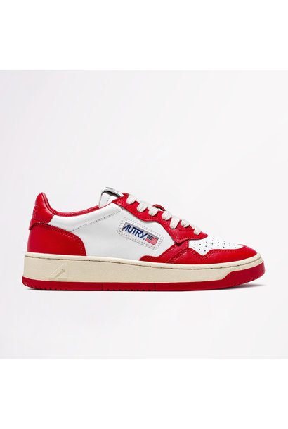 Low Leat/Leat Wht/Red