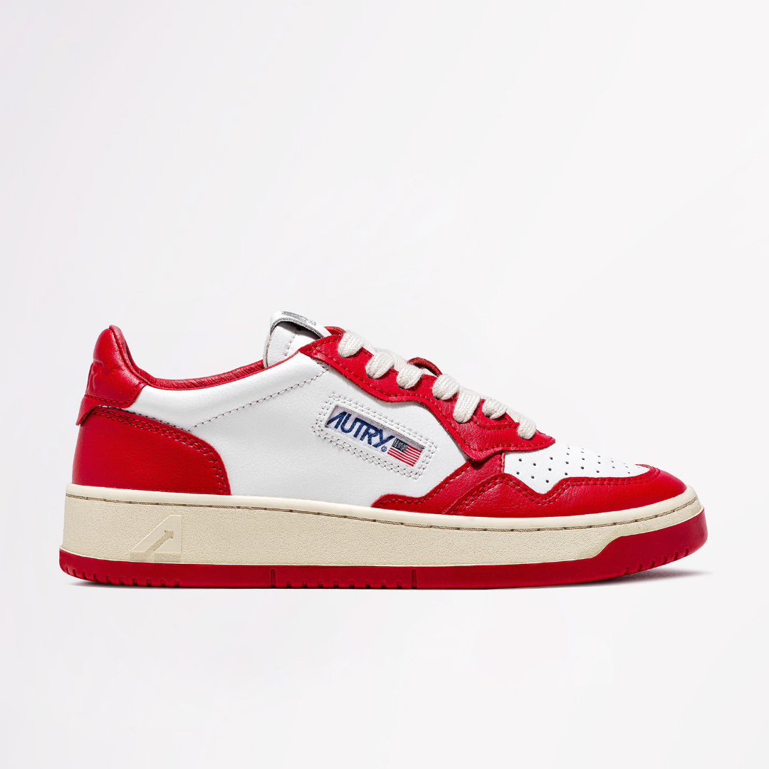 Low Leat/Leat Wht/Red-1