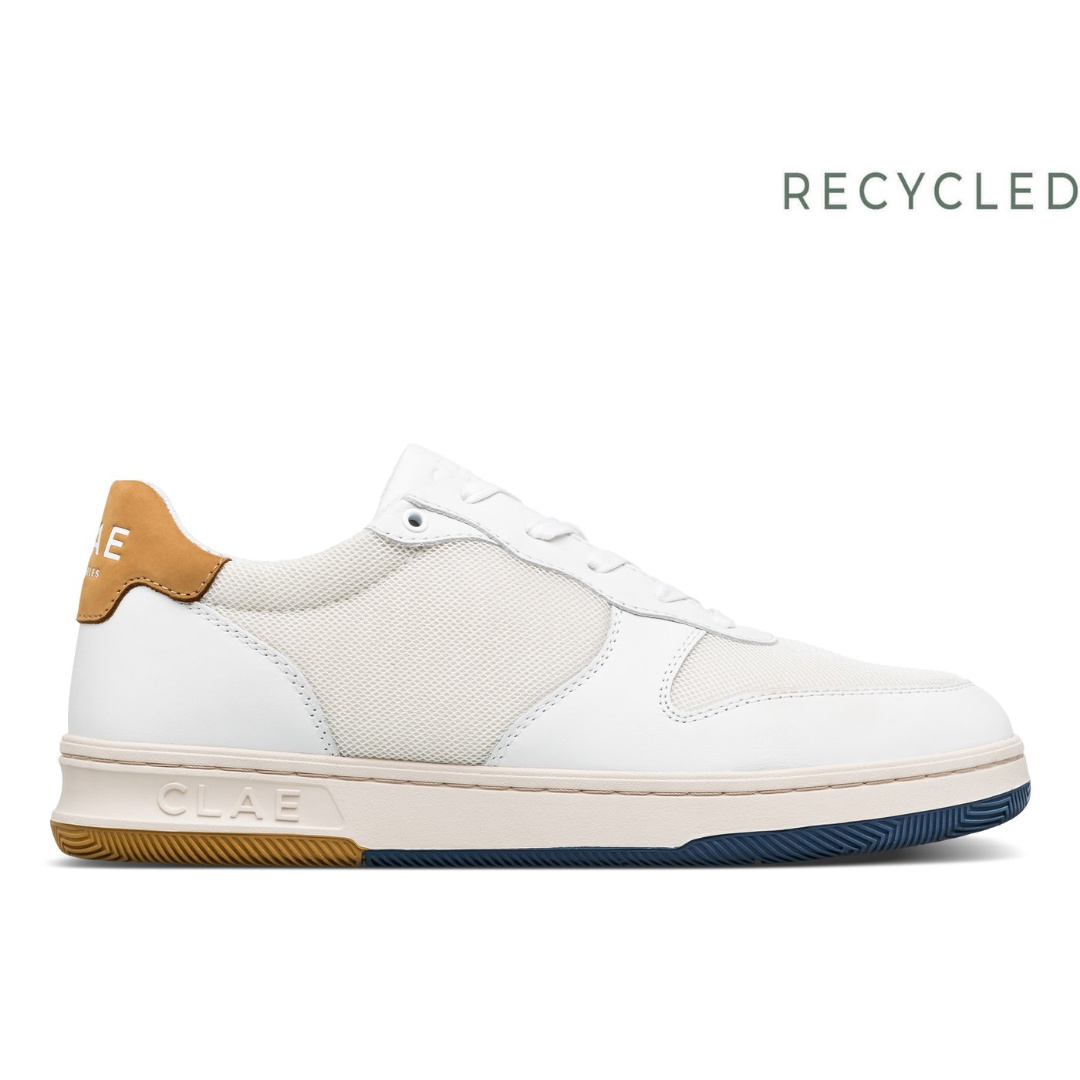 Malone Lite White Leather Weat-1