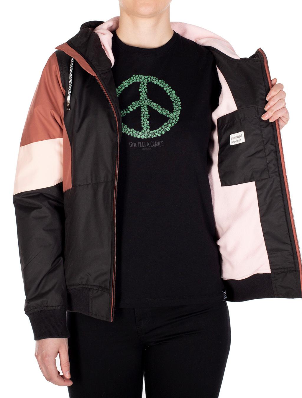 Blotchy Jacket - Black rose-2