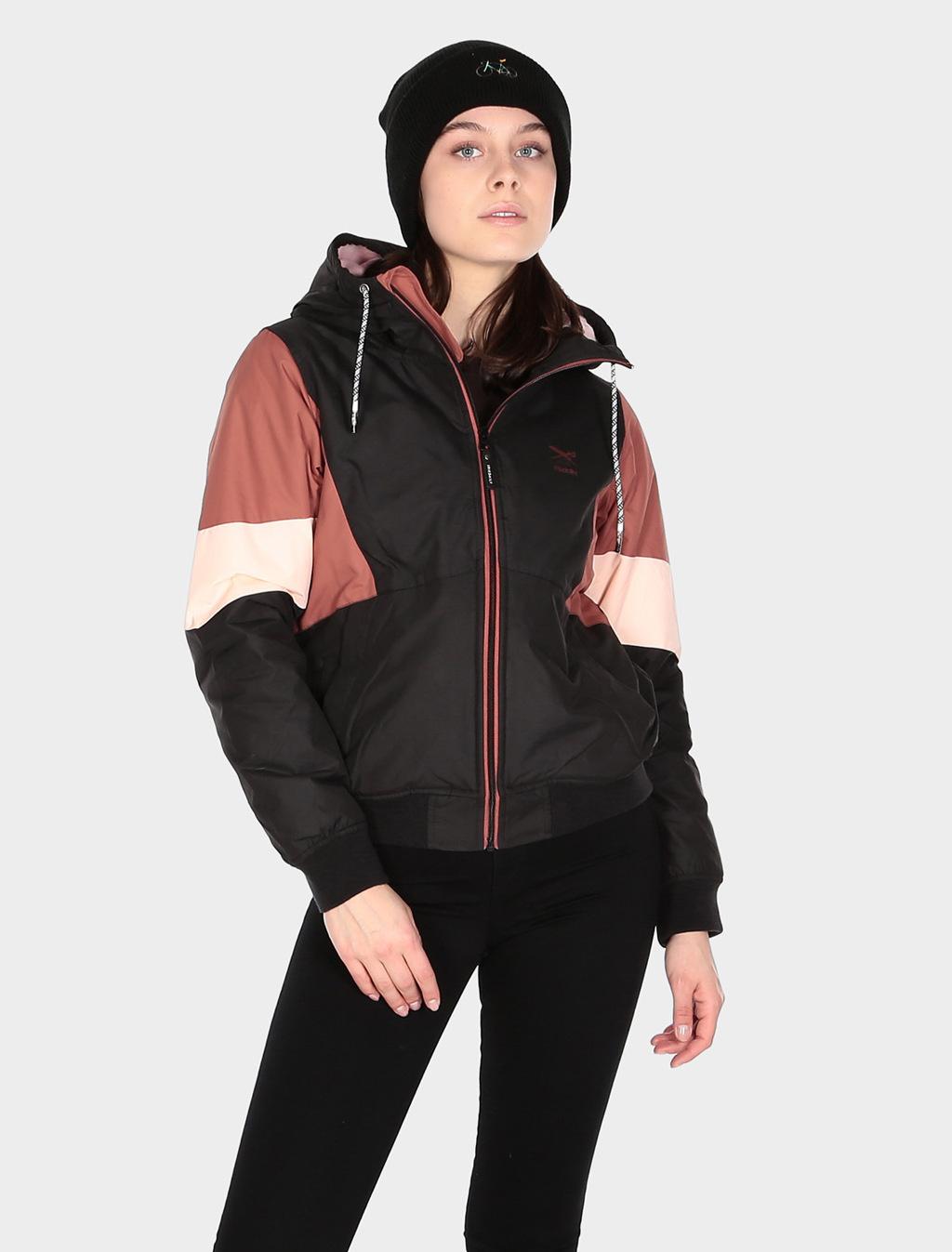 Blotchy Jacket - Black rose-4