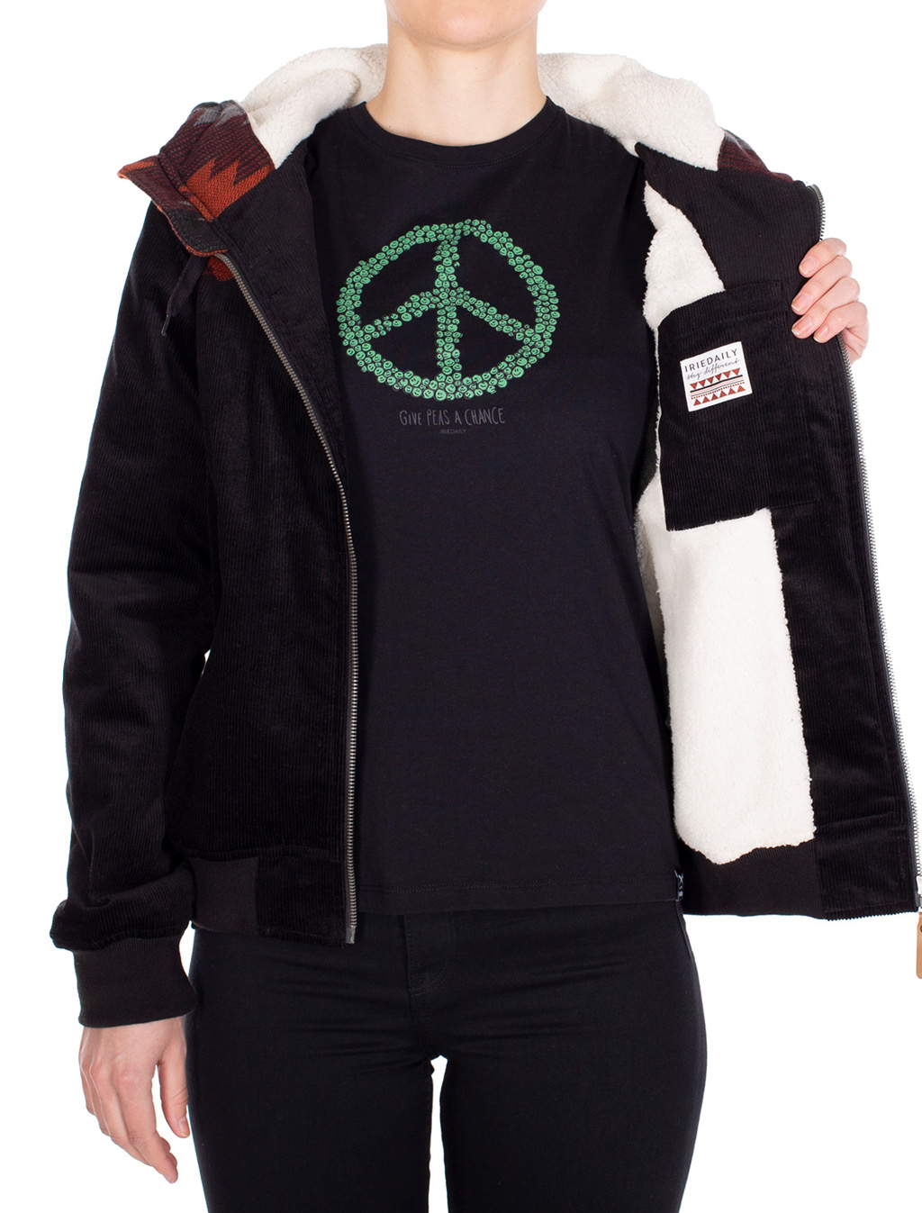 Indi Spice Jacket - Black-2