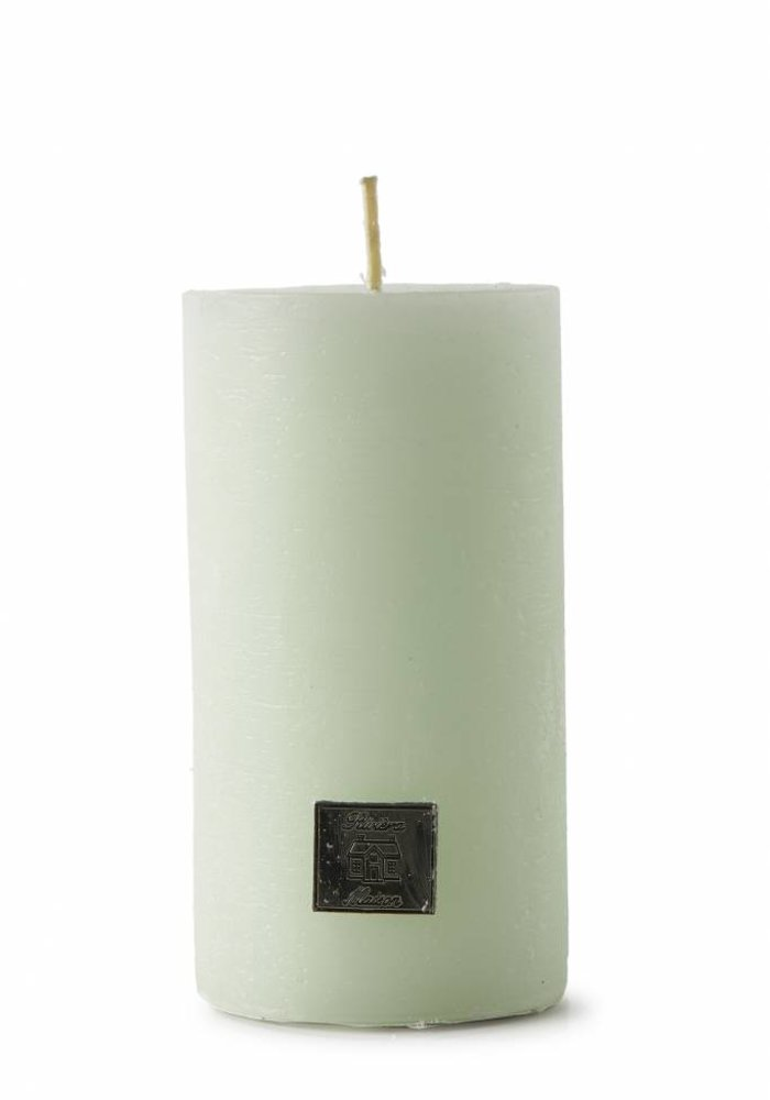 Rivièra Maison Rustic Candle Water Lily Green 7x13