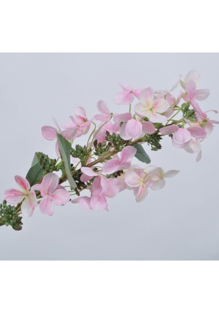 Silk-Ka Hortensia Tak Roze Licht 75 cm