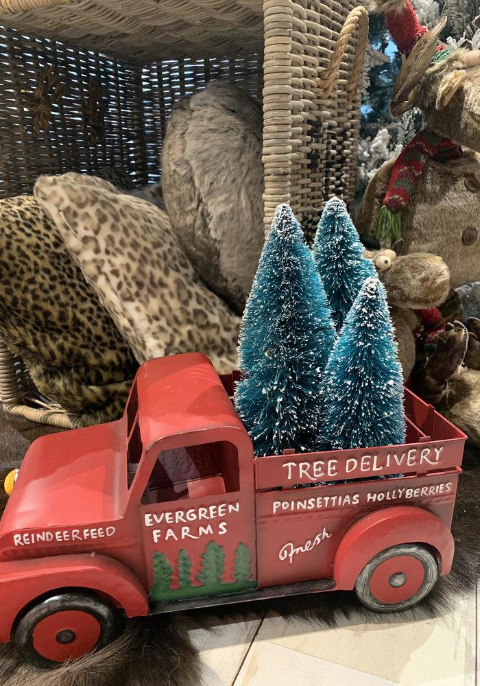Woondt Auto m/bomen Grifton S gemixte kleu