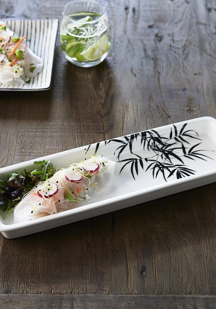 Rivièra Maison Tropical Palm Leaf Serving Plate