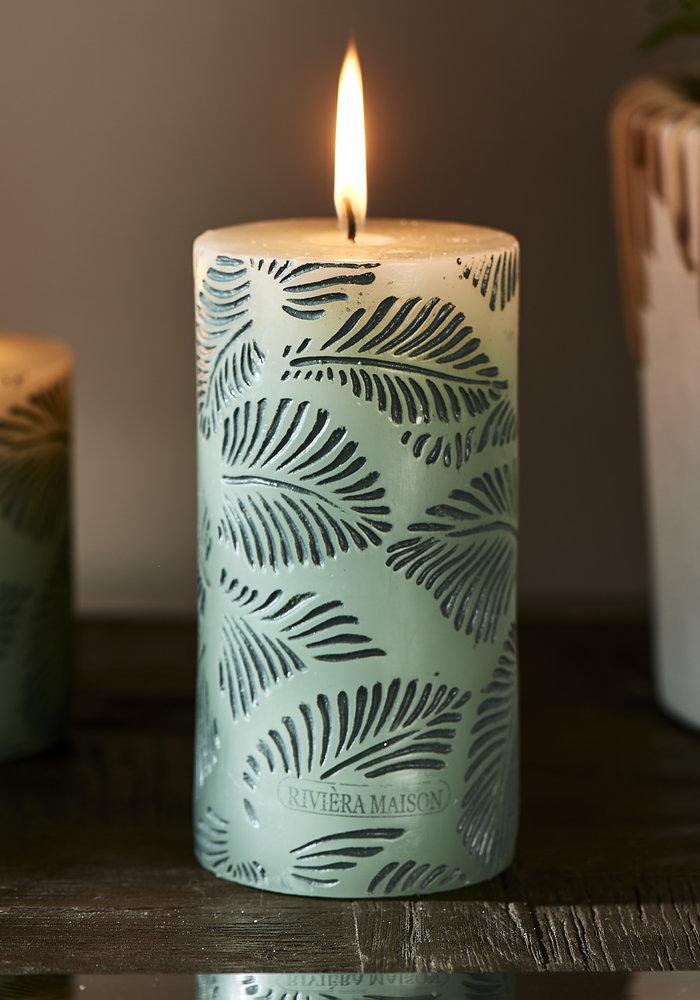 Rivièra Maison Palm Leaves Candle 7 x 14