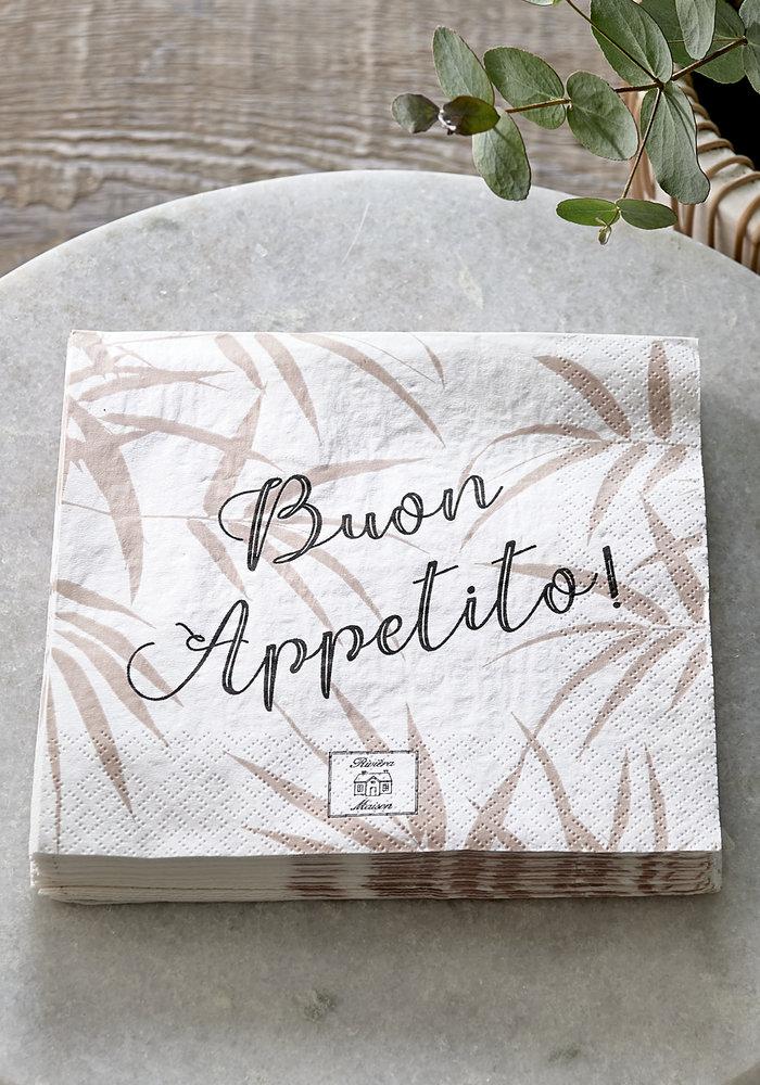 Rivièra Maison Paper Napkin Bamboo Leaf