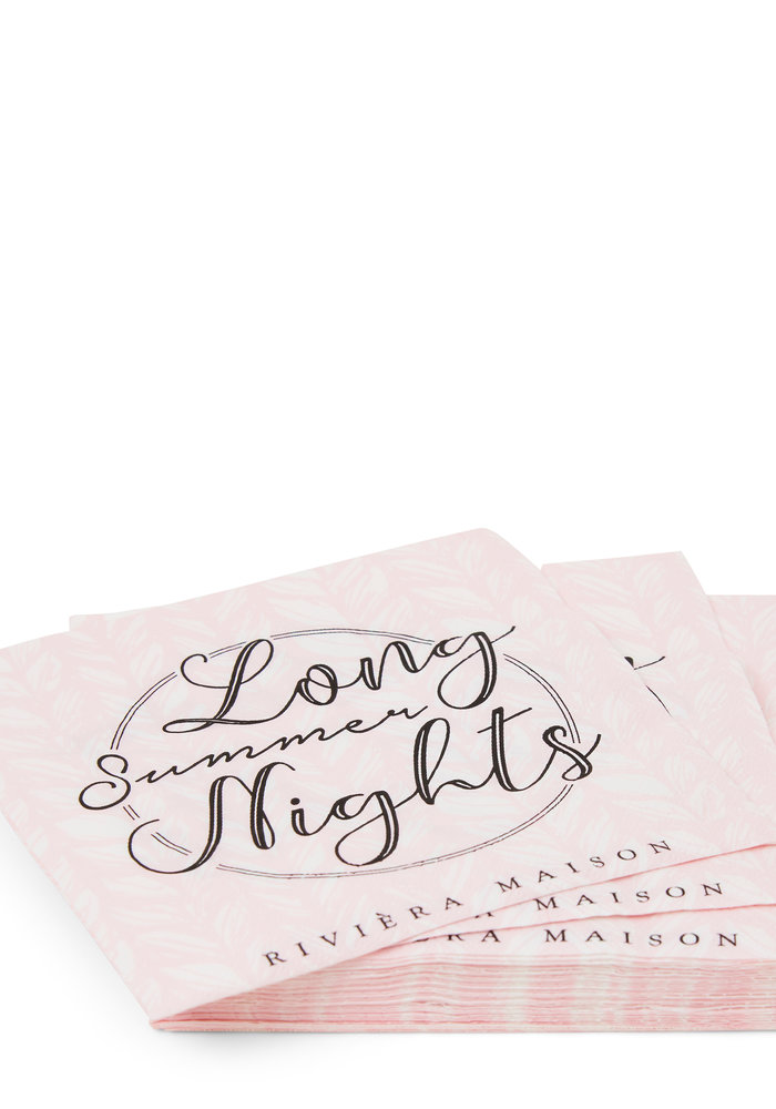 Rivièra Maison Paper Napkin Long Summer Nights
