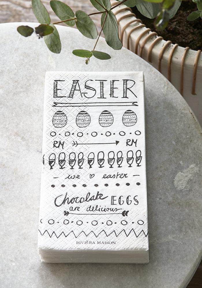 Rivièra Maison Paper Napkin Happy Easter