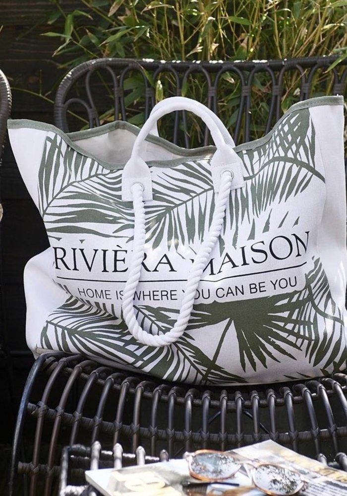 Rivièra Maison Tropical Leaves Bag