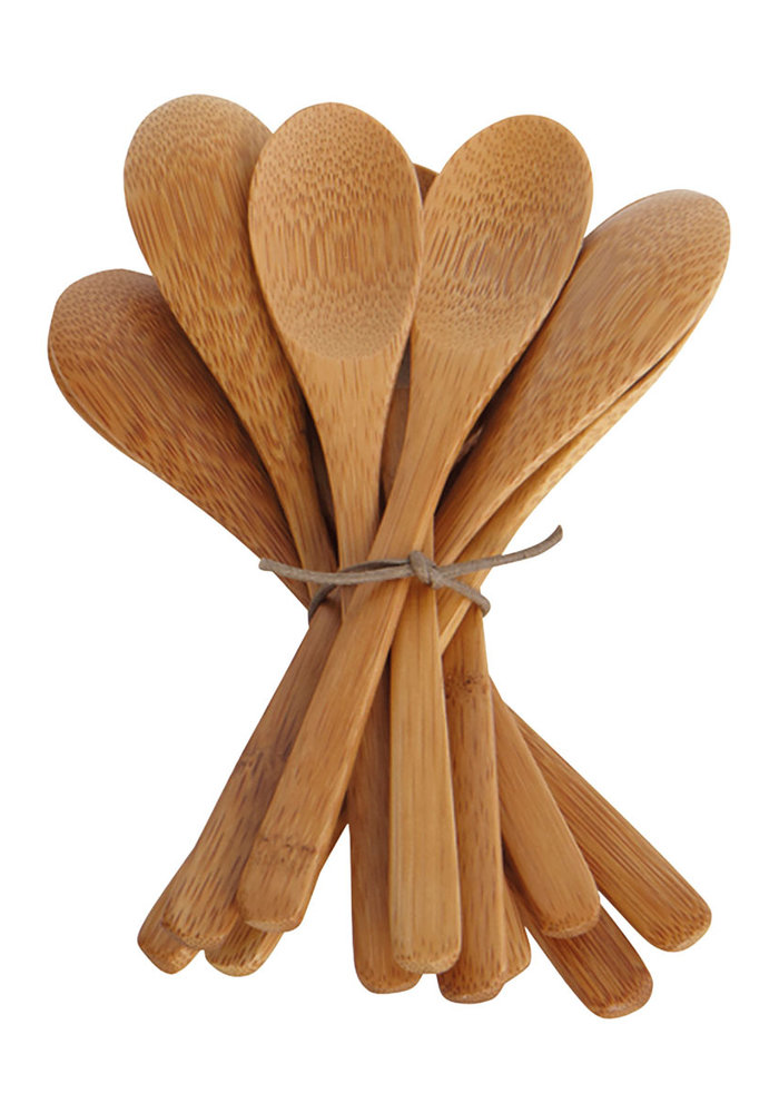 Bamboo Lepels Set van 12