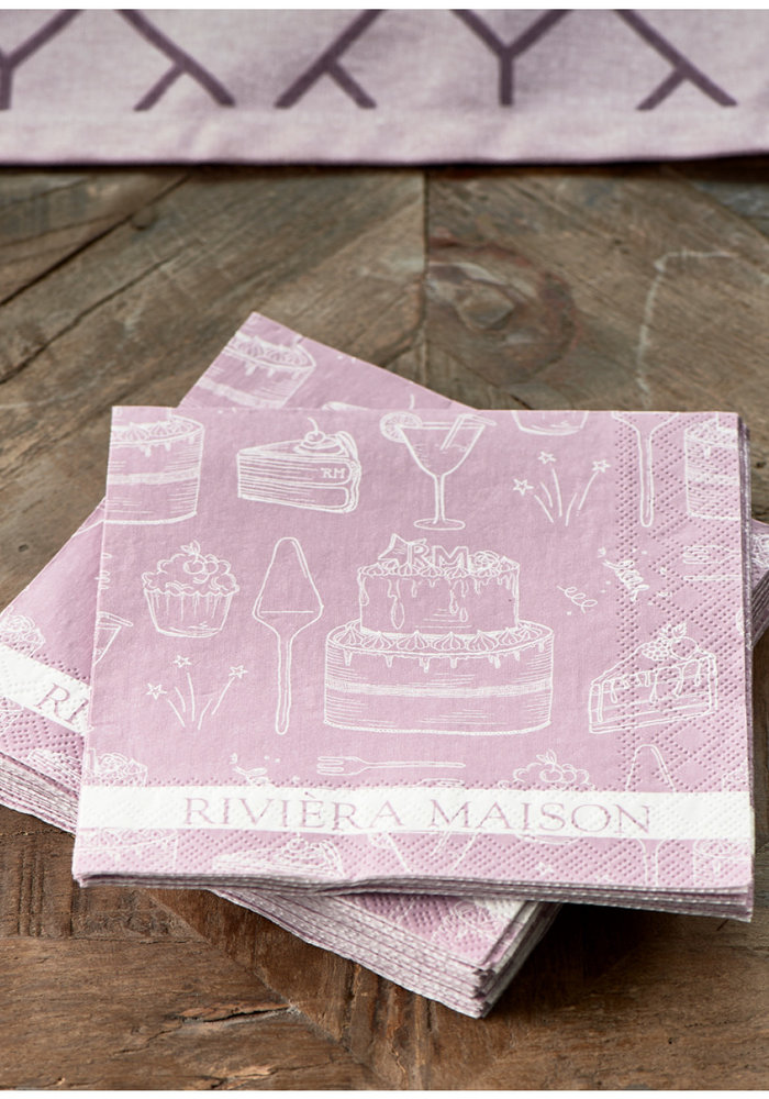 Riviera Maison Paper Napkin RM Loves Pie