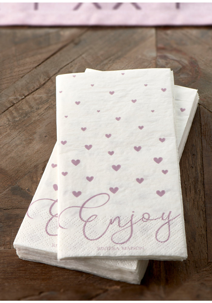 Riviera Maison Paper Napkin Enjoy