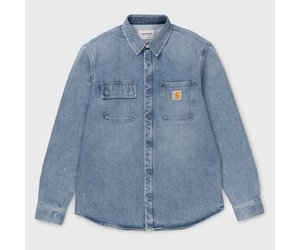 28859a5272 Carhartt Salinac Shirt Light Blue - DIV. Amsterdam