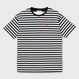 9b8924273c Carhartt WIP Carhartt WIP Barkley T-shirt Stripe Black White