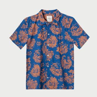 c60797b44b0c WoodWood WoodWood Brandon Shirt Tourist Blue. Add to cart