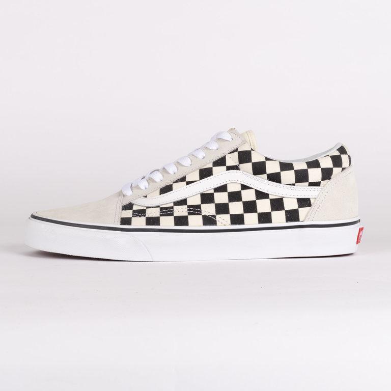 Vans Old Skool Checkerboard White Black