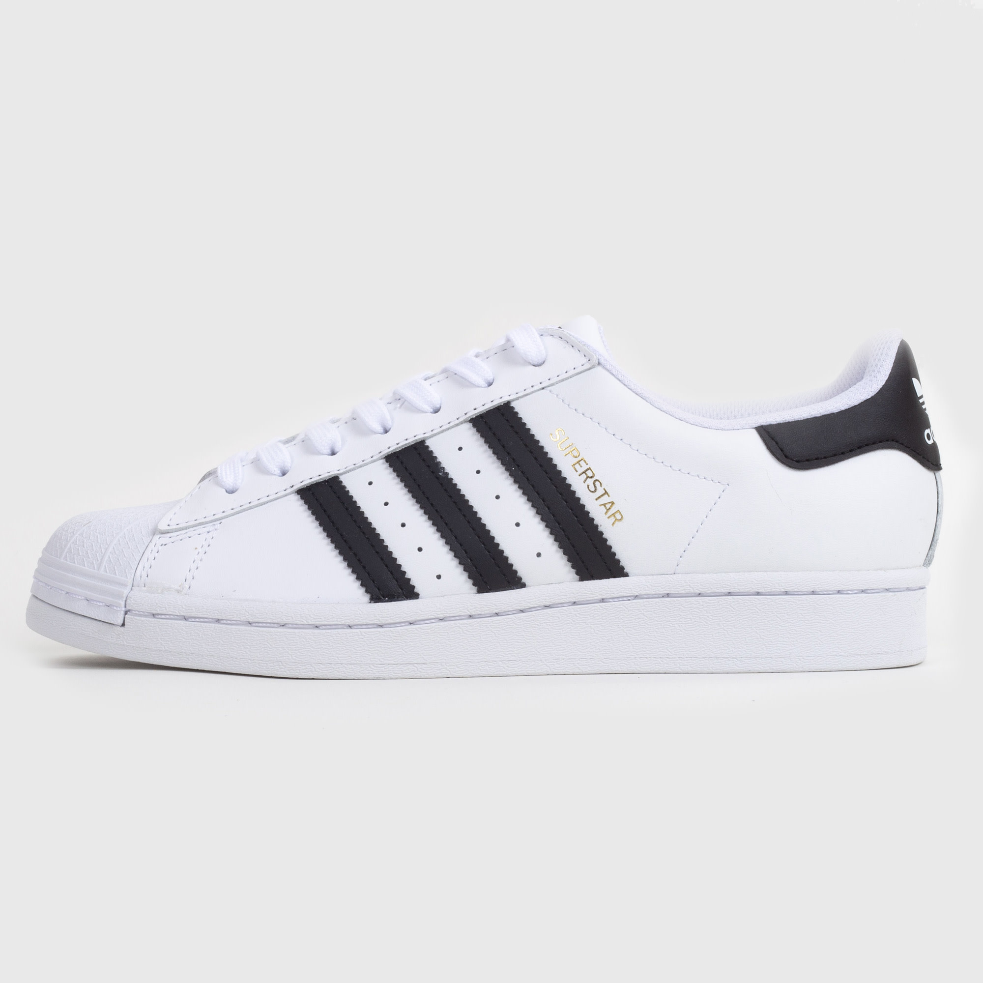 adidas superstar black white core