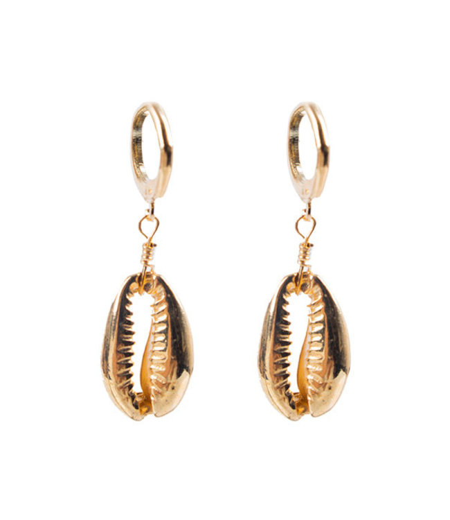 SELECTED BY DIORDIE Little shell earring