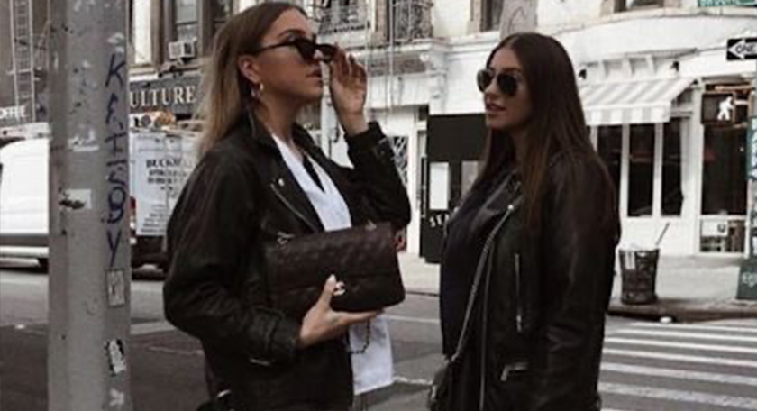 Leather look trend