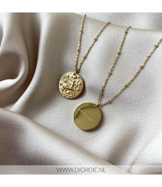 SELECTED BY DIORDIE Sterrenbeeld Ketting BOOGSCHUTTER