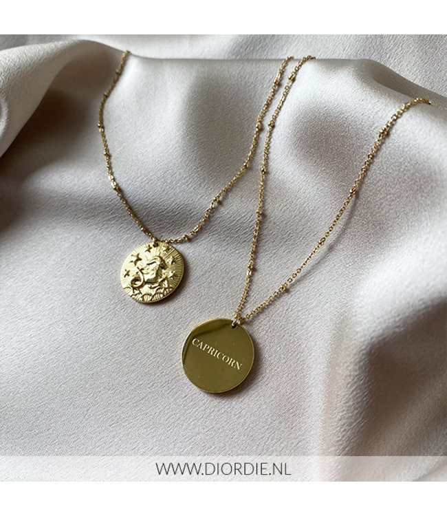SELECTED BY DIORDIE Sterrenbeeld Ketting STEENBOK