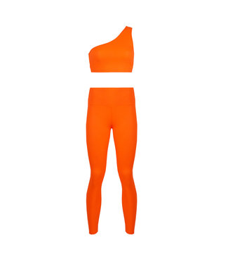 SELECTED BY DIORDIE Sporty Two Piece Orange