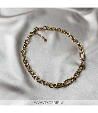 SELECTED BY DIORDIE Siena Necklace Gold