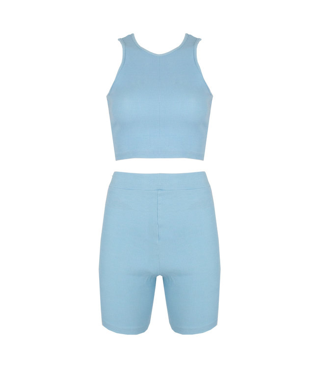 SELECTED BY DIORDIE Maeve Two-Piece Pastel Baby Blue