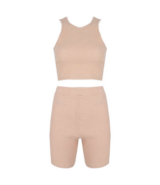 SELECTED BY DIORDIE Maeve Two-Piece Beige