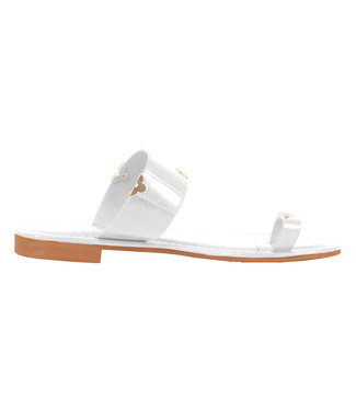 SELECTED BY DIORDIE Cannes Sandal White