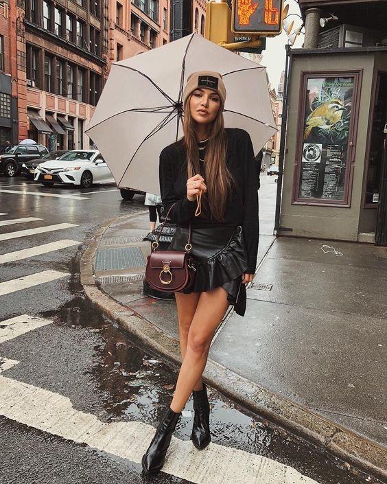 De fijnste items om te dragen tijdens een regenachtige dag!