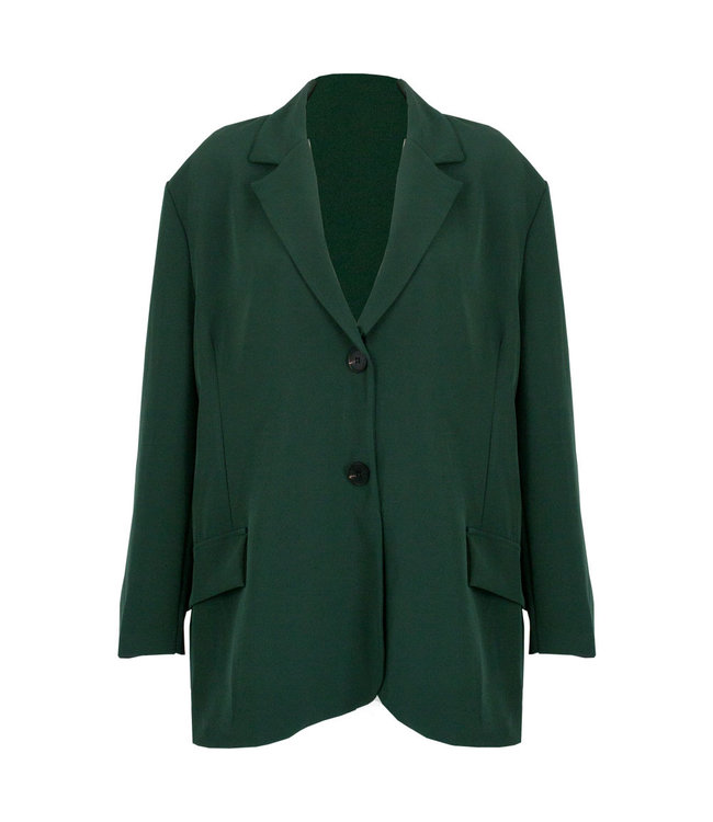 SELECTED BY DIORDIE Ciara Oversized Blazer Green