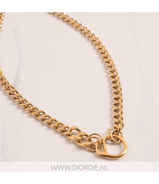 SELECTED BY DIORDIE Soda Tab Chain Necklace