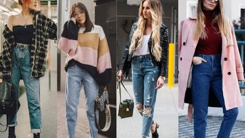 Now on trend: The mom jeans