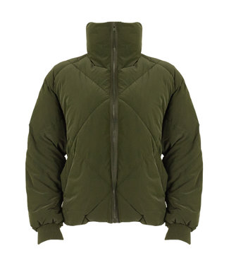 Padded Puffer Jacket Army
