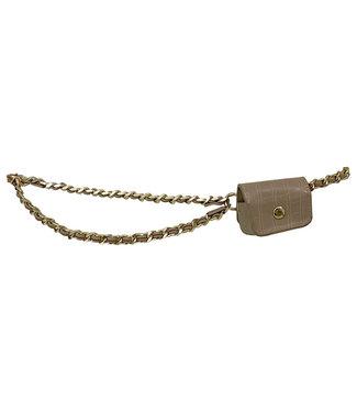 Mini Pouch Chain Belt