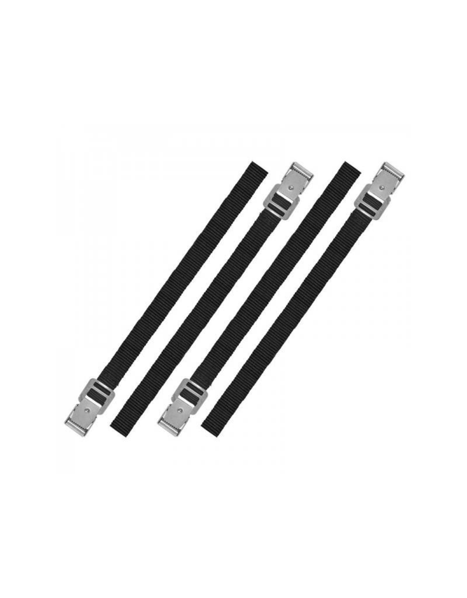 Bindriemen met metalen gesp 18mm-40cm set van 4 stuks