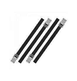 Proplus Bindriemen met metalen gesp 18mm-40cm set van 4 stuks