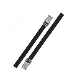 Bindriemen met metalen gesp 18mm-50cm set van 2 stuks