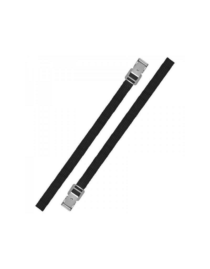 Bindriemen met metalen gesp 18mm-75cm set van 2 stuks