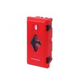 Proplus Brandblusserbox ?150-170mm rood/rood met zichtvenster