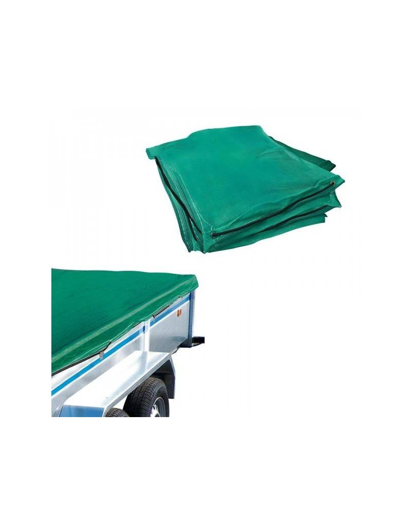Proplus Aanhangernet fijnmazig 1,60x2,50M met elastisch koord